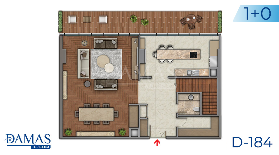 Damas Project D-184 in Istanbul - Floor plan picture  01