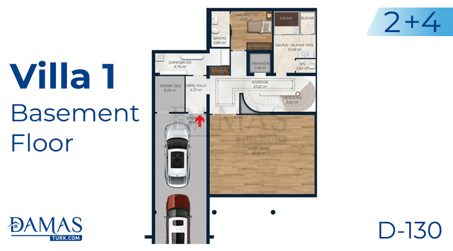 Damas Project D-130 in Istanbul - Floor plan picture 01