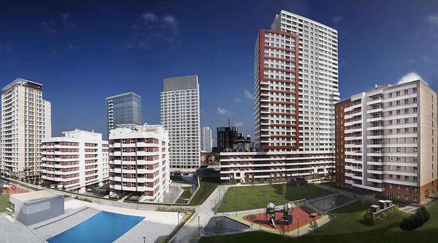 مجمع مجموعة داماس 133 في اسطنبول - صورة خارجية 01
