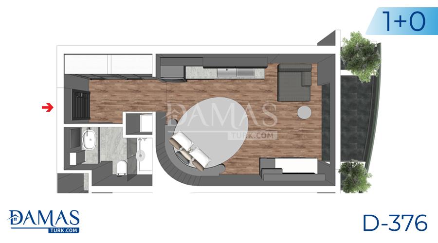 مجمع داماس 376 في يلوا - صورة مخطط 01