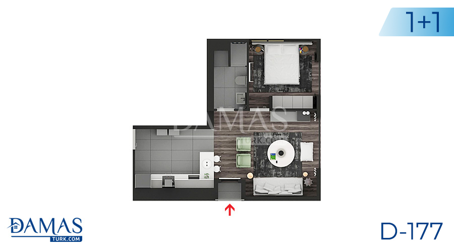 Damas Project D-177 in Istanbul - Floor plan picture  01