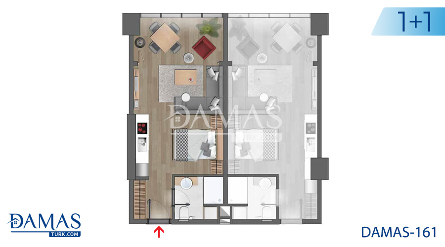Damas Project D-161 in Istanbul - Floor plan picture 02