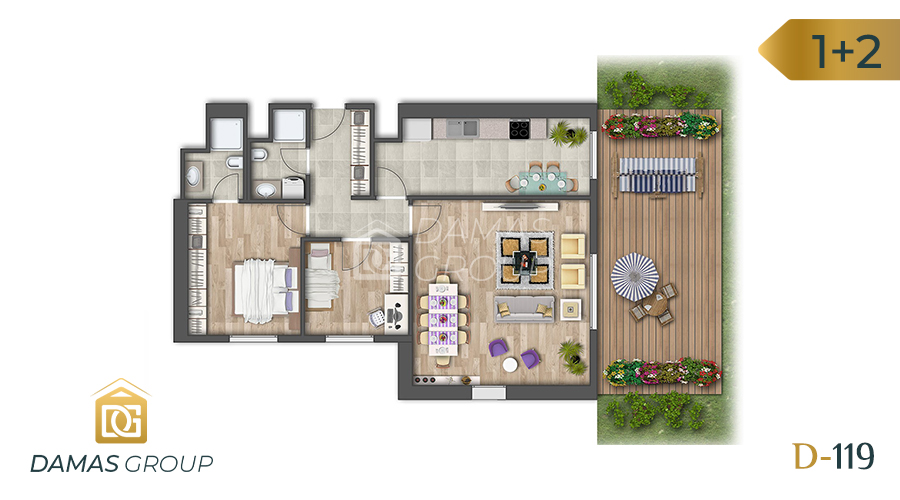Damas Project D-119 in Istanbul - Floor Plan 03