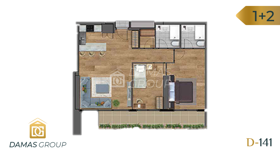 Damas Project D-141 in Istanbul - Floor Plan 03