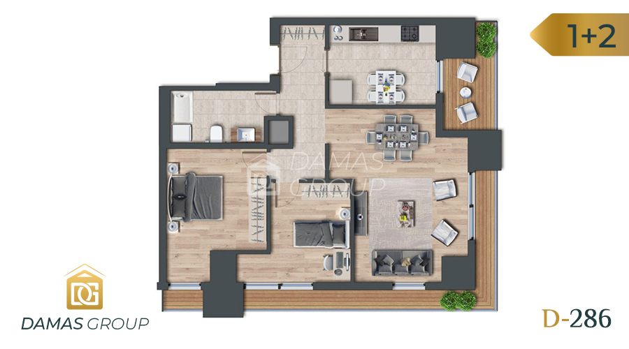 Damas Project D-286 in Istanbul - Floor Plan 03