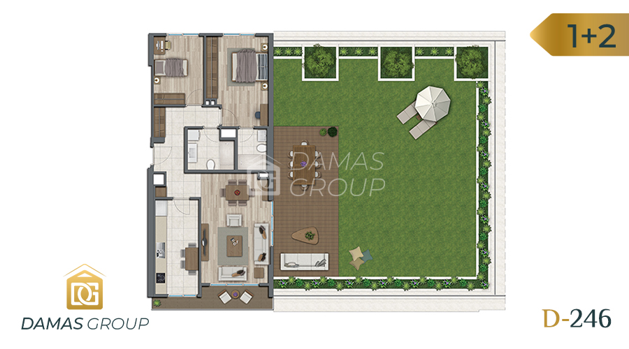 Damas Project D-246 in Istanbul - Floor Plan 02