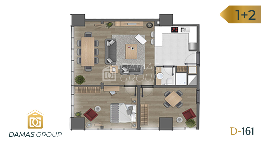 Damas Project D-161 in Istanbul - Floor Plan 05