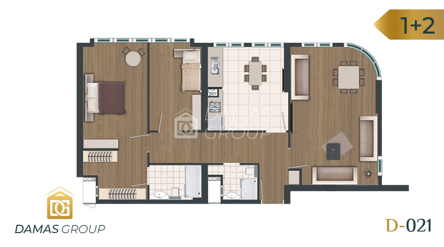 Damas Project D-021 in Istanbul - Floor Plan 04