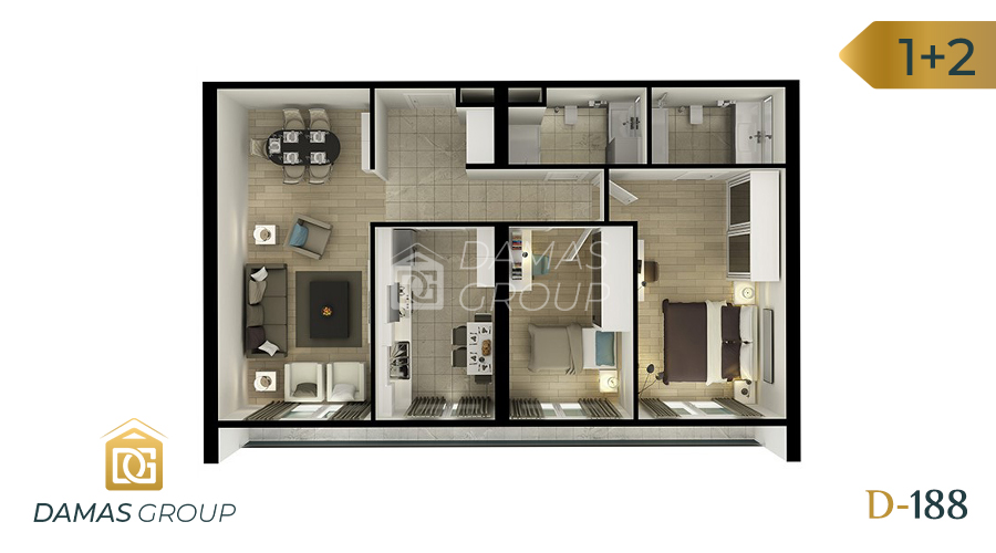 Damas Project D-188 in Istanbul - Floor Plan 04