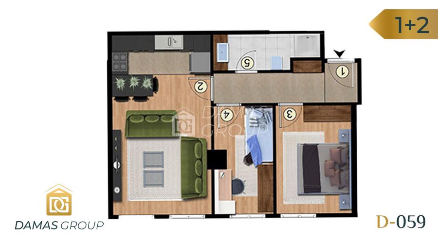 Damas Project D-059 in Istanbul - Floor Plan 04