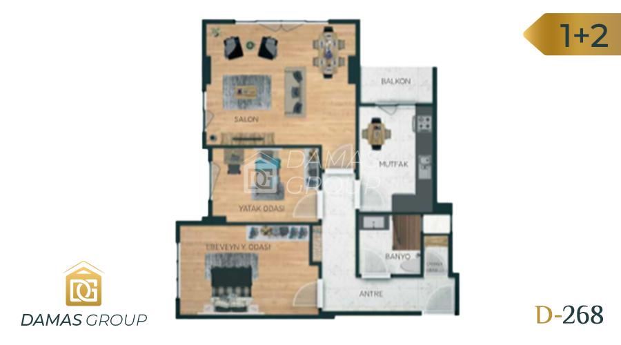 Damas Project D-268 in Istanbul - Floor Plan 03