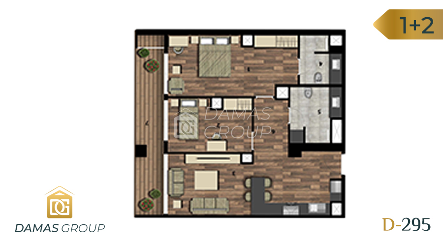 Damas Project D-295 in Istanbul - Floor Plan 04