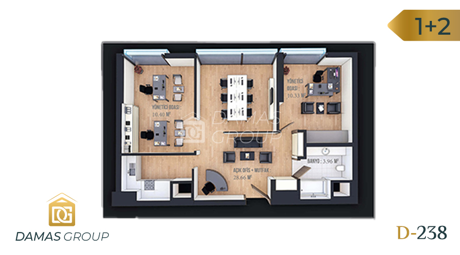 Damas Project D-238 in Istanbul - Floor Plan 04