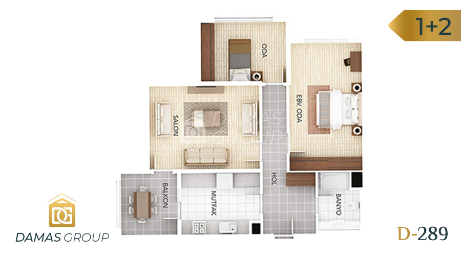 Damas Project D-289 in Istanbul - Floor Plan 02