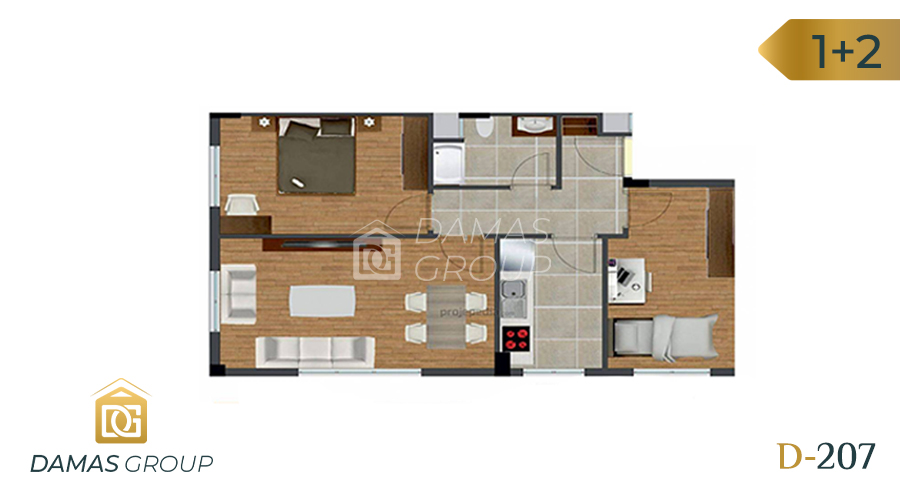 Damas Project D-207 in Istanbul - Floor Plan 03