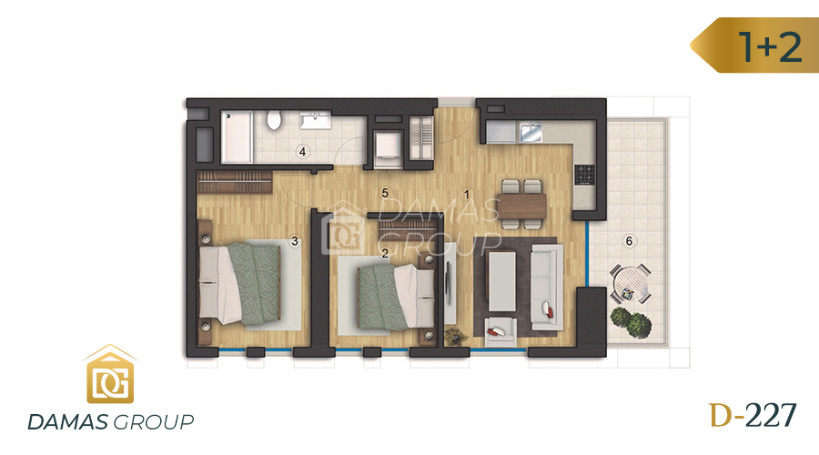 Damas Project D-227 in Istanbul - Floor Plan 05