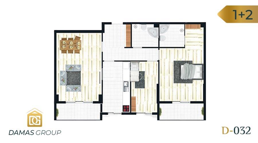 Damas Project D-032 in Istanbul - Floor Plan 03