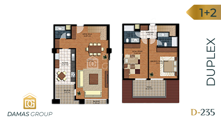 Damas Project D-235 in Istanbul - Floor Plan 03