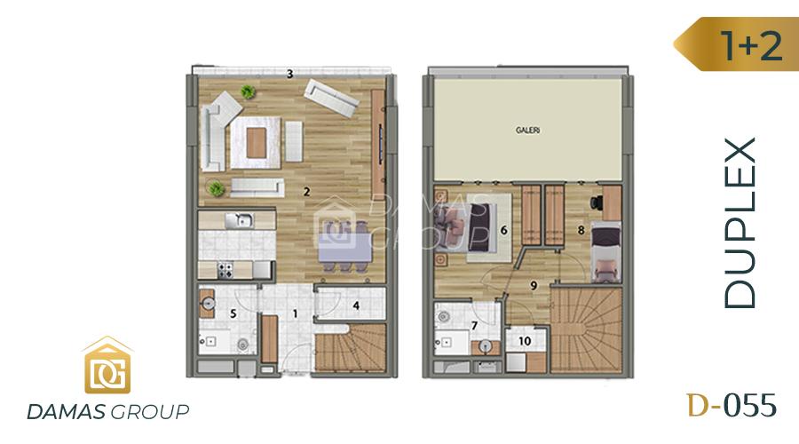 Damas Project D-055 in Istanbul - Floor Plan 04