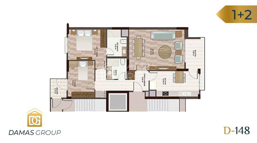 Damas Project D-148 in Istanbul - Floor Plan 02