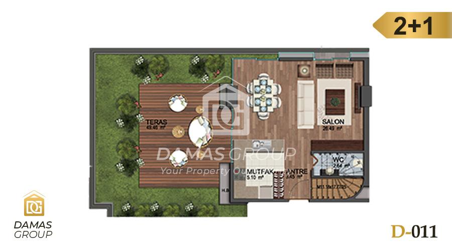 Damas Project D-011 in Istanbul - Floor Plan 03