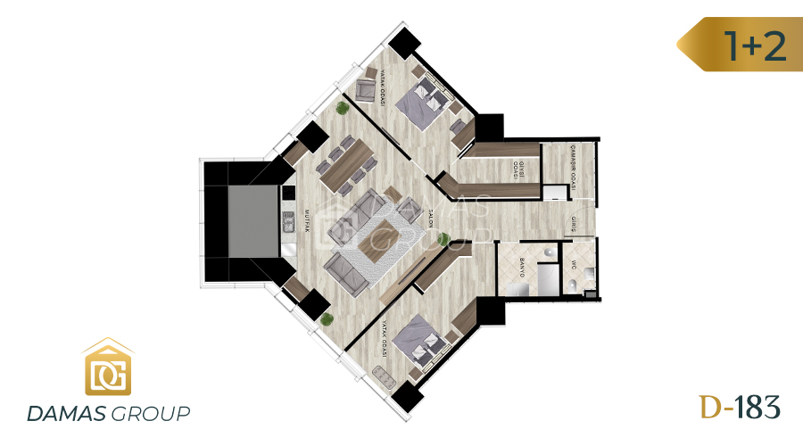 Damas Project D-183 in Istanbul - Floor Plan 04