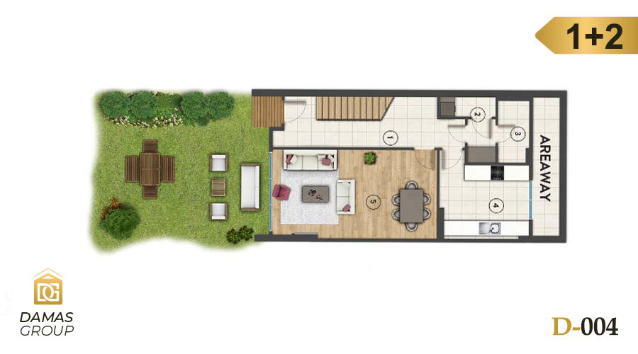 Damas Project D-004 in Istanbul - Floor Plan 01