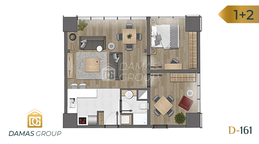 Damas Project D-161 in Istanbul - Floor Plan 04