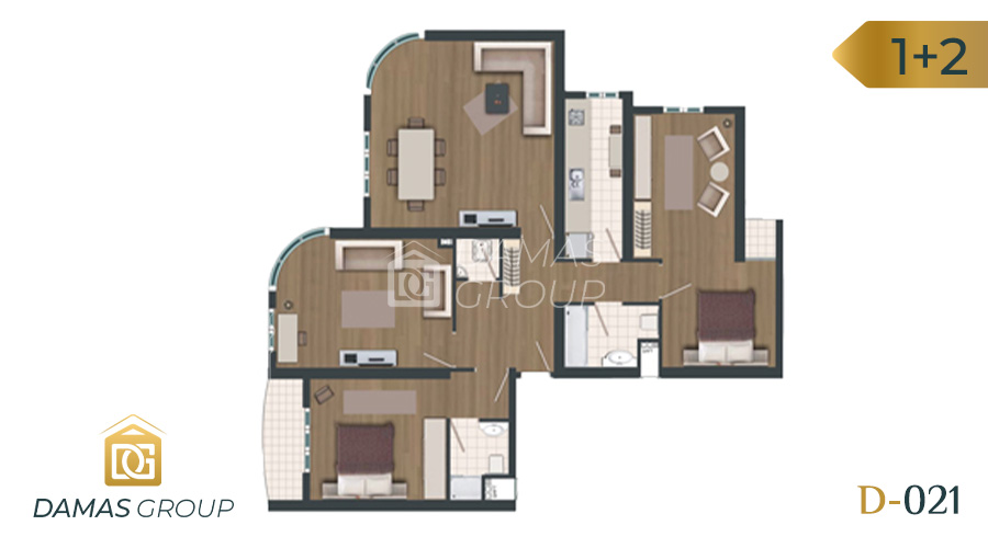 Damas Project D-021 in Istanbul - Floor Plan 03