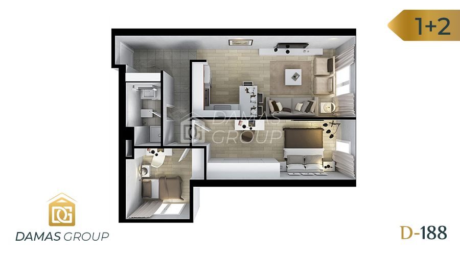 Damas Project D-188 in Istanbul - Floor Plan 03
