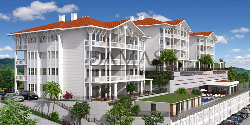 apartments for sale bursa - Damas 202 Project in bursa - exterior picture 02