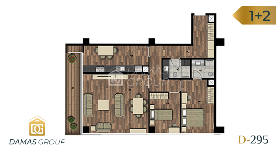 Damas Project D-295 in Istanbul - Floor Plan 03