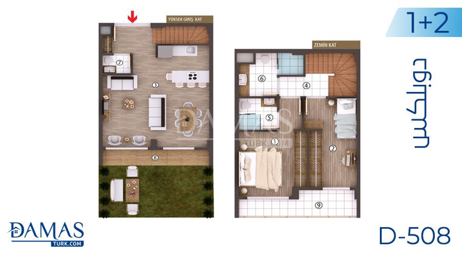 مجمع مجموعة داماس 508 في كوجالي - صورة مخطط 02