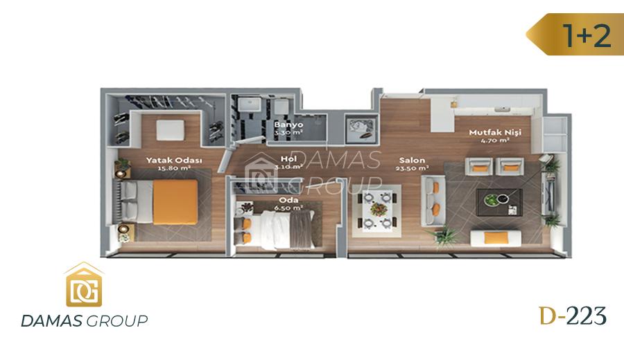 Damas Project D-223 in Istanbul - Floor Plan 05