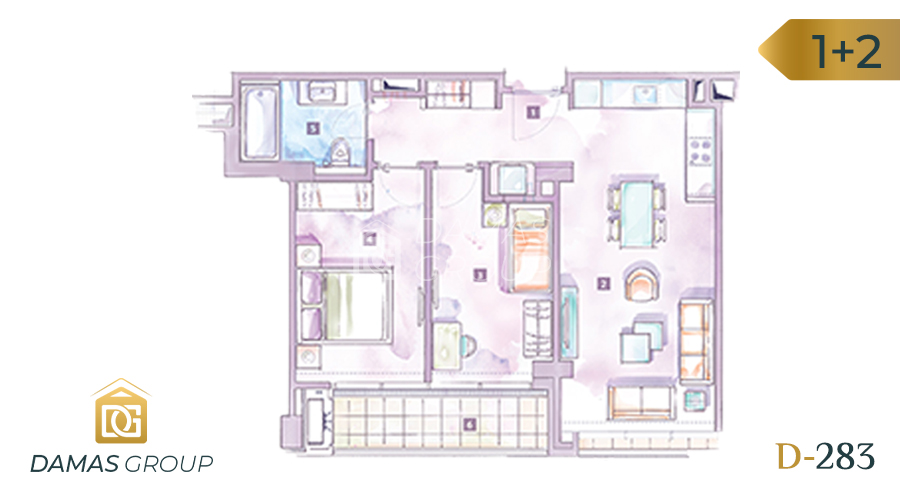 Damas Project D-283 in Istanbul - Floor Plan 03
