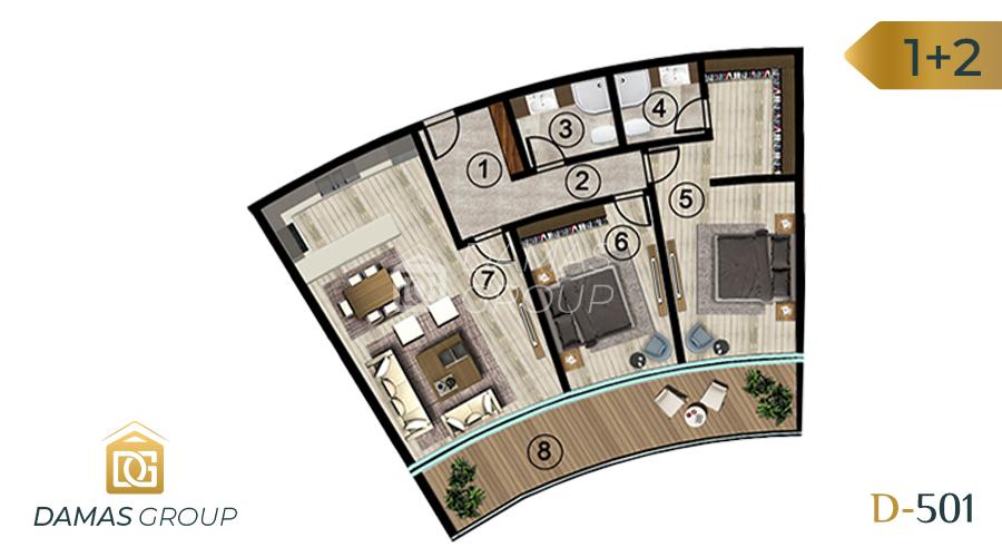 Damas Project D-501 in kocali - Floor Plan 03