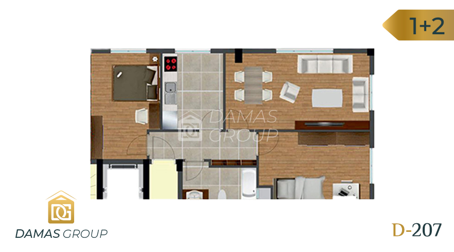 Damas Project D-207 in Istanbul - Floor Plan 02