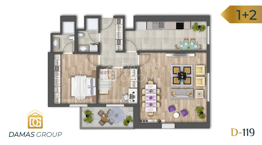 Damas Project D-119 in Istanbul - Floor Plan 04