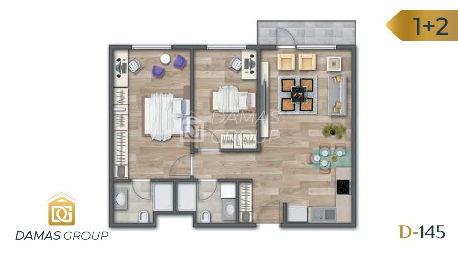 Damas Project D-145 in Istanbul - Floor Plan 03