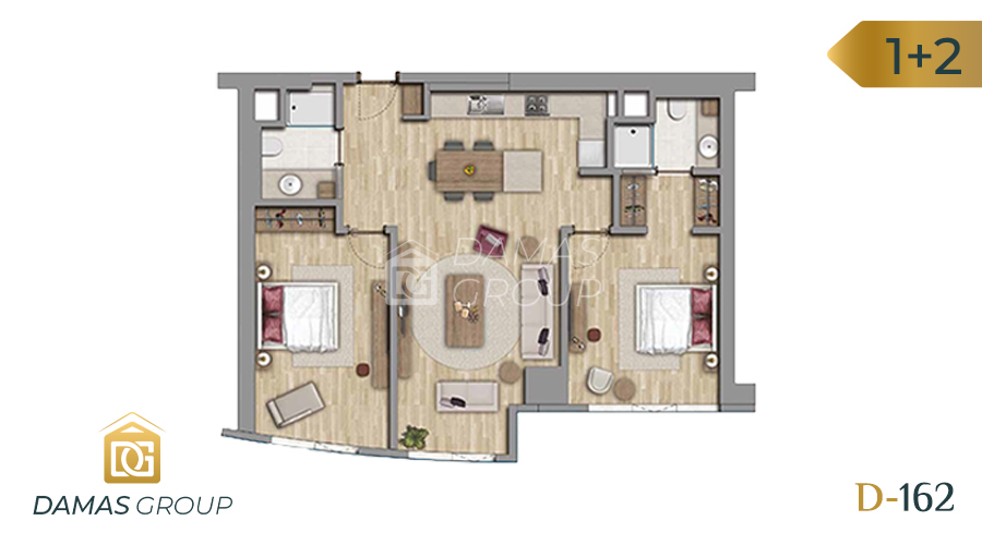 Damas Project D-162 in Istanbul - Floor Plan 04