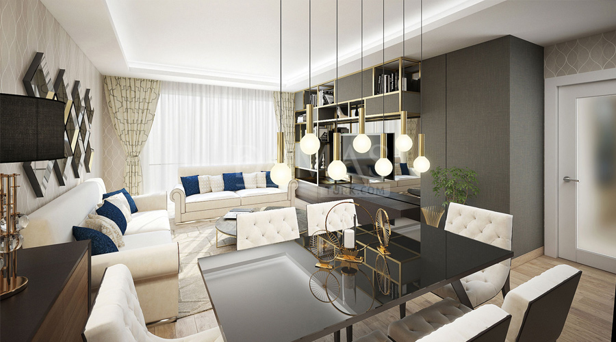 Damas Project D-195 in Istanbul - interior picture  02