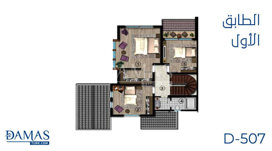 Damas Project D-507 in kocaeli - Floor plan picture 02