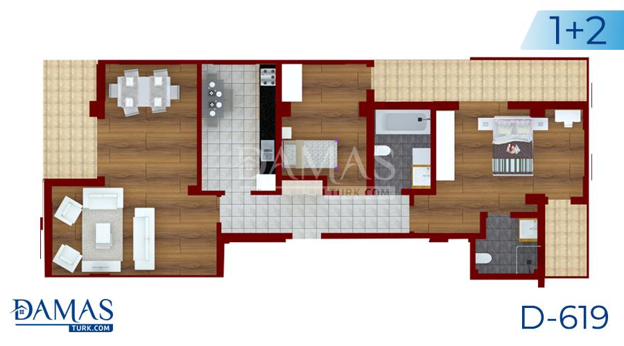 مجمع داماس 377 في يلوا - صورة مخطط  02