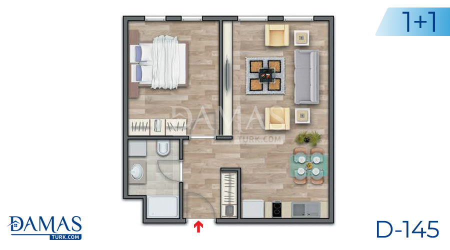 Damas Project D-145 in Istanbul - Floor plan picture 02