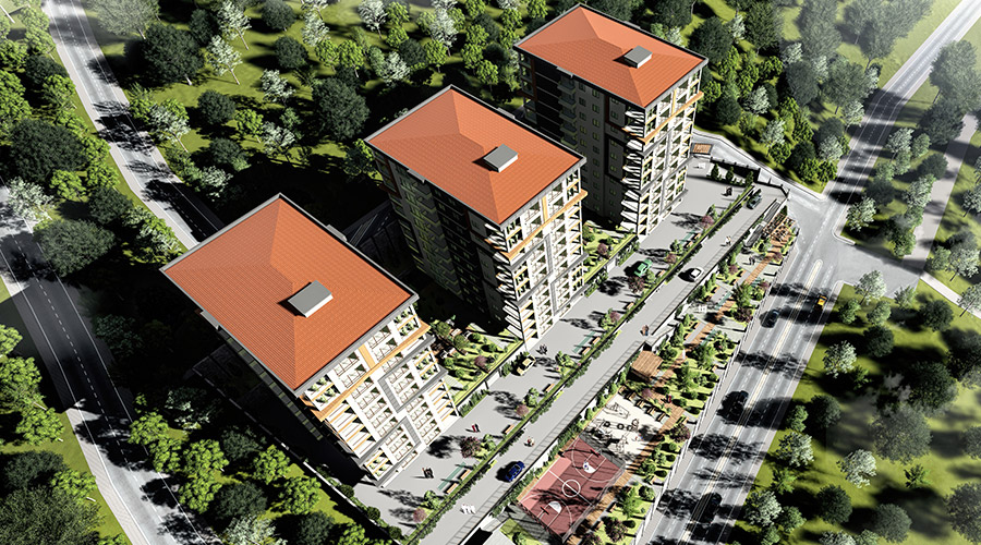 Damas Project D-410 in Trabzon - Exterior picture  02
