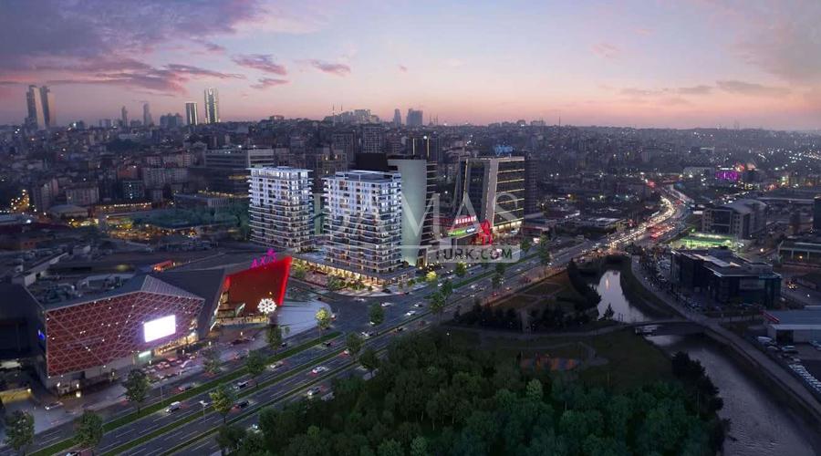 مجمع مجموعة داماس 152 في اسطنبول - صورة خارجية 02