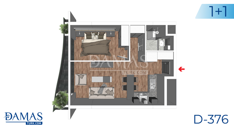 مجمع داماس 376 في يلوا - صورة مخطط 02