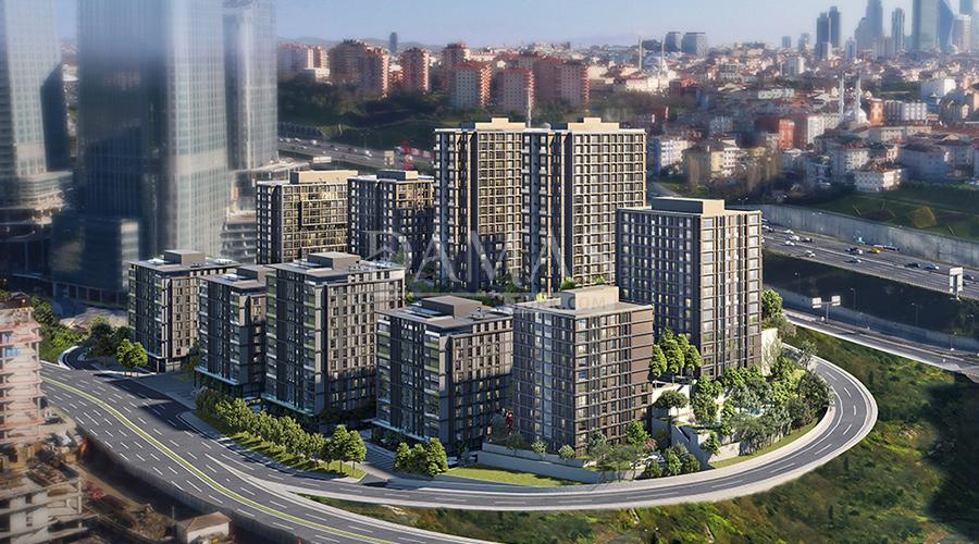 مجمع مجموعة داماس 157 في اسطنبول - صورة خارجية 02