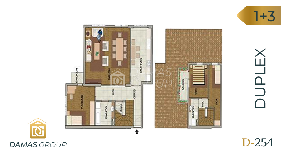 Damas Project D-254 in Istanbul - Floor Plan 04