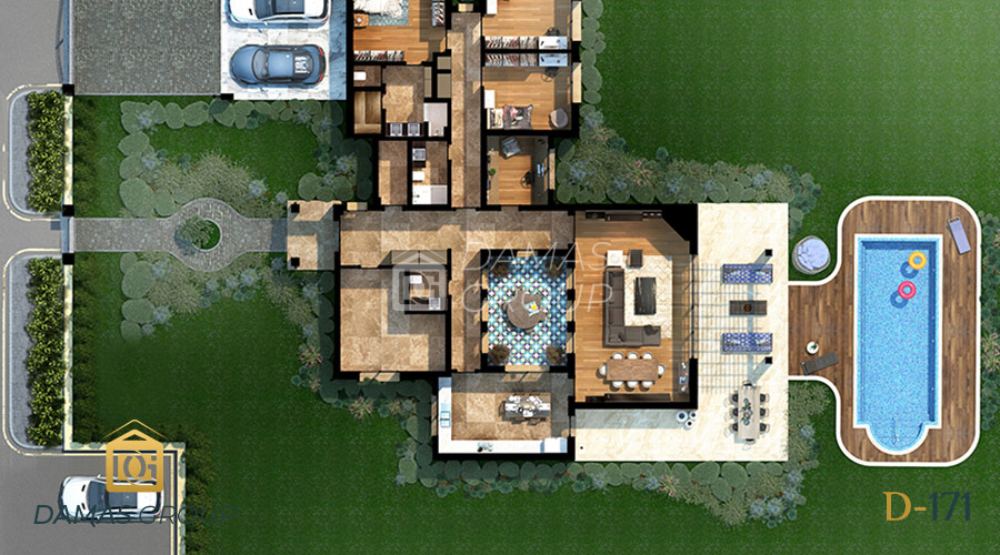 Damas Project D-171 in Istanbul - Floor Plan 03